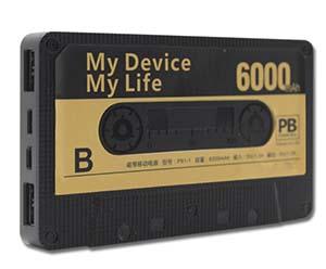 磁带充电宝